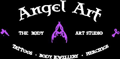 Angel Art Splash Logo